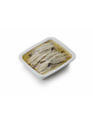 Fileuri de Anchois albe marinate in ulei, 1kg
