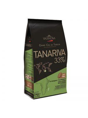 Ciocolata Tanariva cu lapte 33%, 3kg