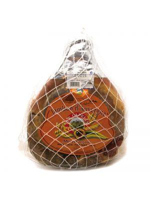 Jambon d'Auvergne IGP din carne de porc Capelin, CANTAL SALAISONS