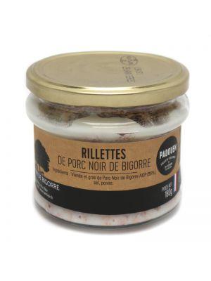 Rillette artizanal cu porc negru din Bigorre AOC, borcan, 180g
