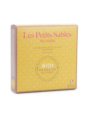 Biscuiti frantuzesti, cu aroma de tonka, cutie cadou La Sablesienne