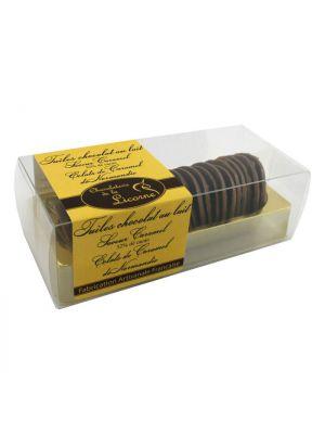 Tigle de ciocolata cu caramel 150gr