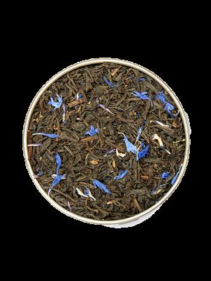 Ceai, Earl Grey fleurs bleues, Thés Christine Dattner, 100g