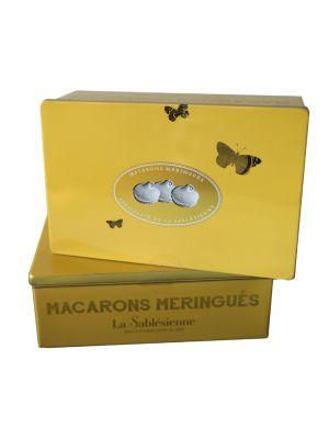 Meringue Macaroons in cutie cadou, La Sablesienne