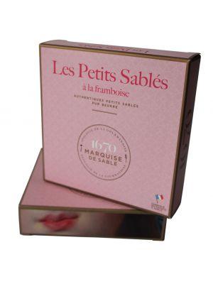Biscuiti frantuzesti, cu zmeura, cutie cadou La Sablesienne