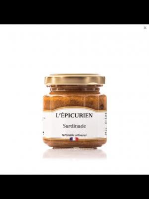 Sardinade - pasta de sardine tartinabila, 100g, L'Epicurien