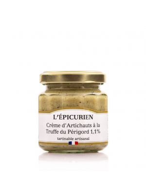 Crema de anghinare cu trufe negre Périgord, 100 g, L'Epicurien